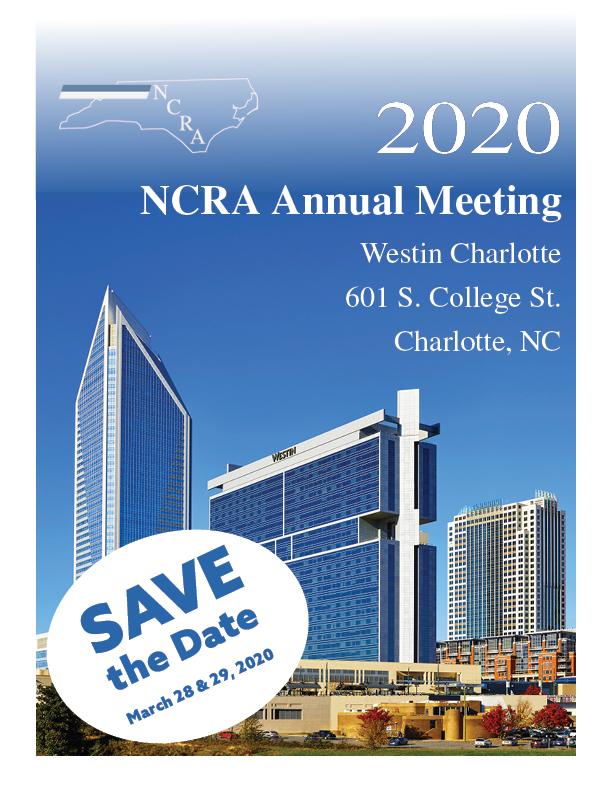 2019 & 2020 Conference Flyers - NC Rheumatology Association